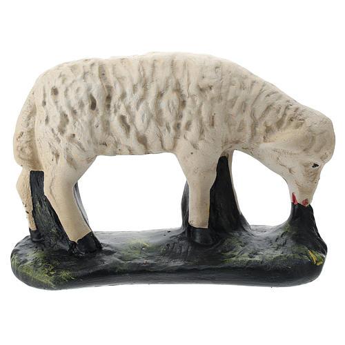 Statue set 3 pecorelle gesso per presepi 40 cm Arte Barsanti 4