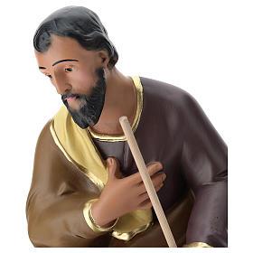 Estatua San José yeso pintado a mano belén 60 cm Arte Barsanti s2