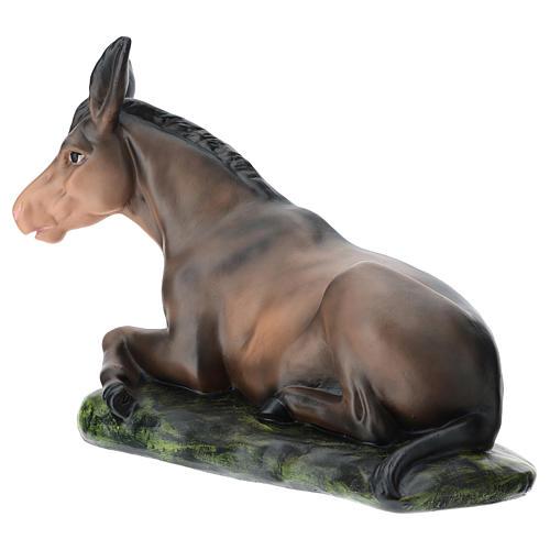 Estatua burro de yeso belén 60 cm Arte Barsanti 5
