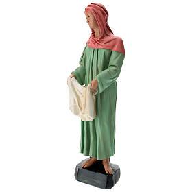 Estatua lavandera velo y ropa belén 60 cm Arte Barsanti s3