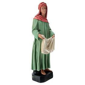 Estatua lavandera velo y ropa belén 60 cm Arte Barsanti s4
