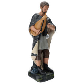 Pastor con gaita yeso pintado belén 60 cm Arte Barsanti s4