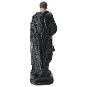 Pastore con zampogna gesso dipinto presepe 60 cm Arte Barsanti s5