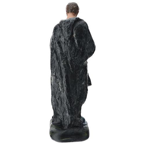 Pastore con zampogna gesso dipinto presepe 60 cm Arte Barsanti 5