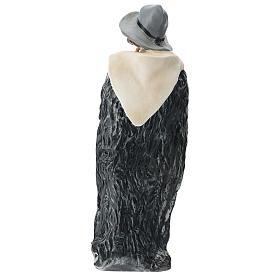 Estatua gaitero con sombrero belén Arte Barsanti 60 cm s5