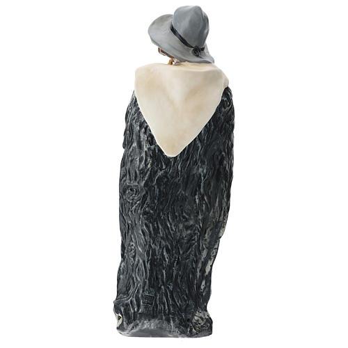 Statua zampognaro con cappello presepe Arte Barsanti 60 cm 5