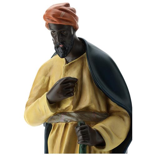 Estatua camellero con capa belén Arte Barsanti 60 cm 2