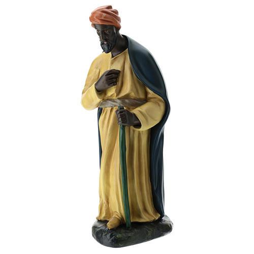 Estatua camellero con capa belén Arte Barsanti 60 cm 3