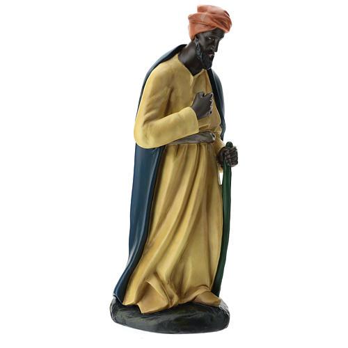 Estatua camellero con capa belén Arte Barsanti 60 cm 4