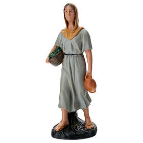 Farmer with vegatbles and jug 60 cm Arte Barsanti s1