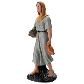 Farmer with vegatbles and jug 60 cm Arte Barsanti s3