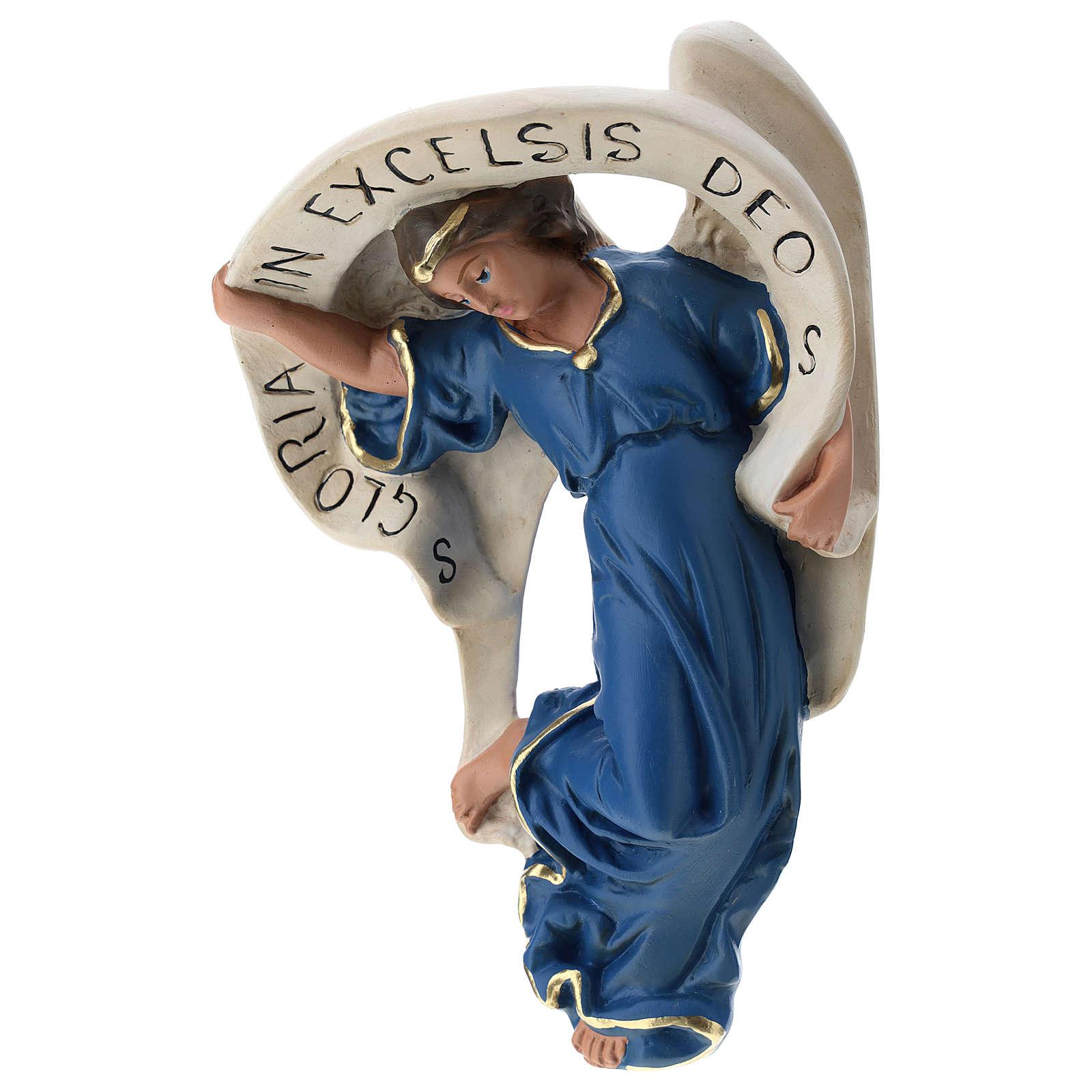 Estatua Ángel vestido azul 60 cm Arte Barsanti 4