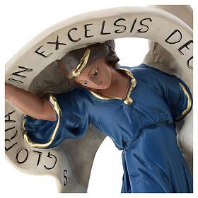 Statua Angelo veste azzurra 60 cm Arte Barsanti s2