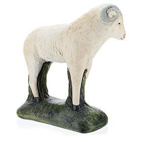 Cabra para belén Arte Barsanti 60 cm yeso pintado a mano s4
