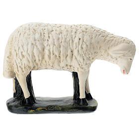 Estatua oveja agachada belén 60 cm Arte Barsanti s1