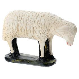 Statuina pecorella chinata presepe 60 cm Arte Barsanti s4