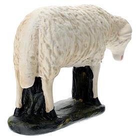 Statuina pecorella chinata presepe 60 cm Arte Barsanti s5