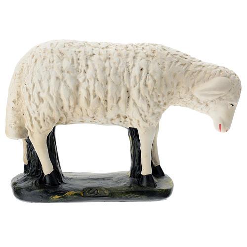Statuina pecorella chinata presepe 60 cm Arte Barsanti 1