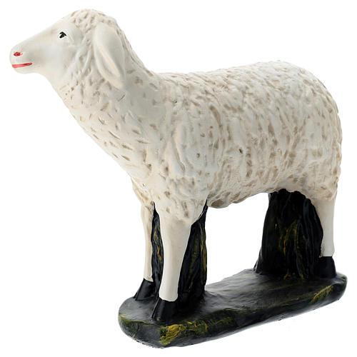 Estatua oveja mirada derecha belén Arte Barsanti 60 cm 3