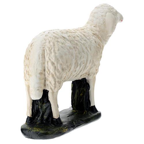 Estatua oveja mirada derecha belén Arte Barsanti 60 cm 5