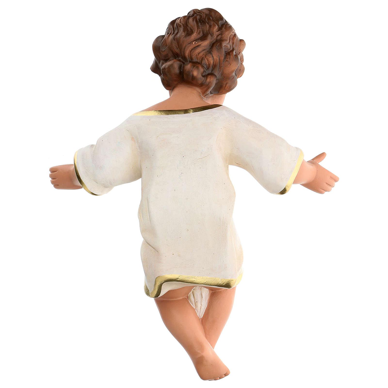 Gesù Bambino 36 cm per presepe Arte Barsanti di 80 cm 4