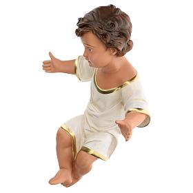 Gesù Bambino 36 cm per presepe Arte Barsanti di 80 cm s3