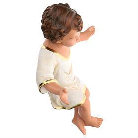 Gesù Bambino 36 cm per presepe Arte Barsanti di 80 cm s4