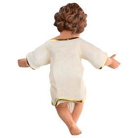 Gesù Bambino 36 cm per presepe Arte Barsanti di 80 cm s5