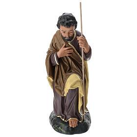 Estatua San José 80 cm yeso pintado a mano Arte Barsanti s1