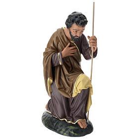 Estatua San José 80 cm yeso pintado a mano Arte Barsanti s3