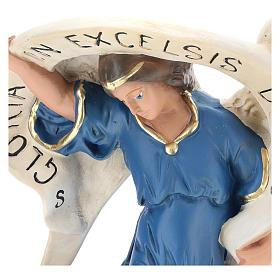 Arte Barsanti Angel of Glory with light blue robe 80 cm s2