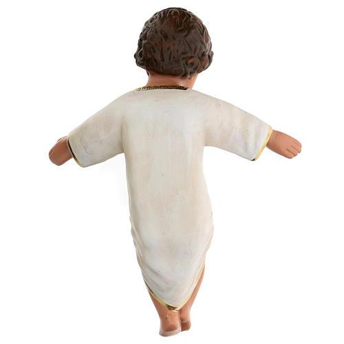 Niño Jesús yeso pintado a mano h real 27 cm Arte Barsanti 3