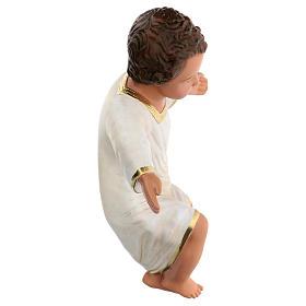 Gesù Bambino gesso dipinto a mano h reale 27 cm Arte Barsanti s4