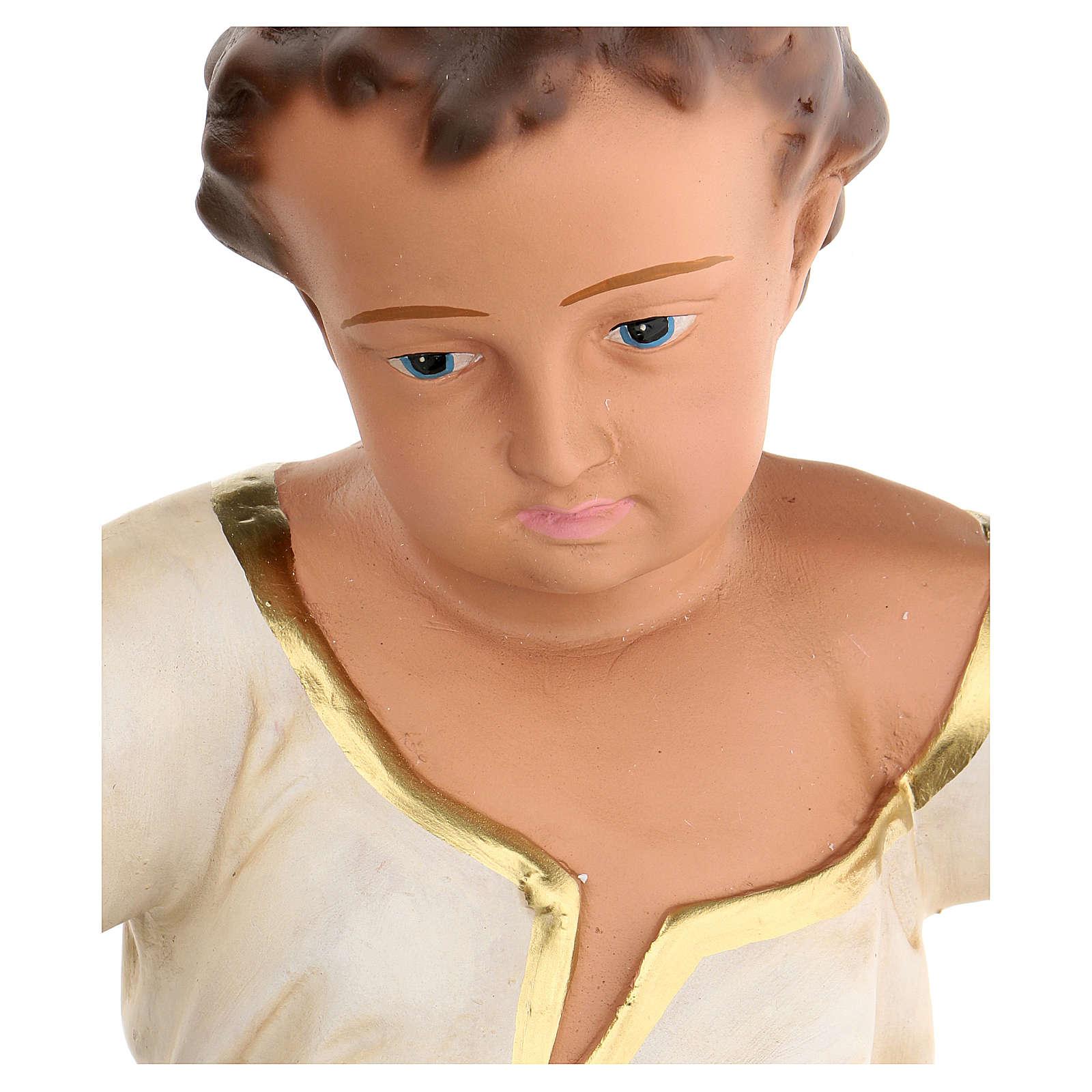 Gesù Bambino h reale 50 cm gesso Arte Barsanti 4