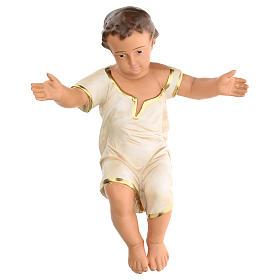 Gesù Bambino h reale 50 cm gesso Arte Barsanti s1