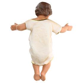 Gesù Bambino h reale 50 cm gesso Arte Barsanti s4