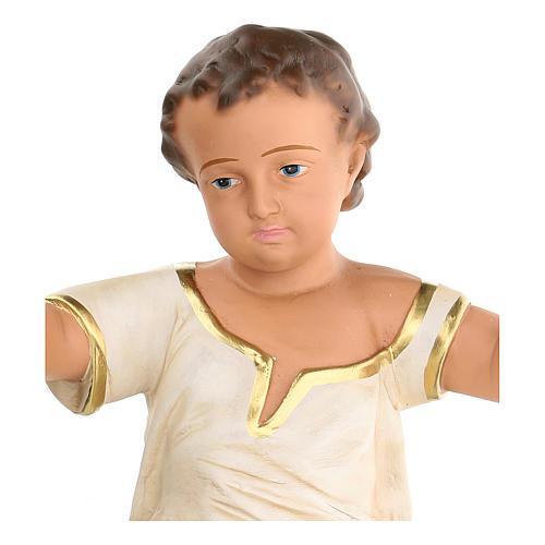 Gesù Bambino h reale 50 cm gesso Arte Barsanti 3