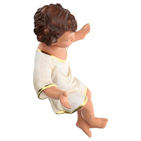 Arte Barsanti Baby Jesus 36 cm (REAL HEIGHT) in plaster with glass eyes s4
