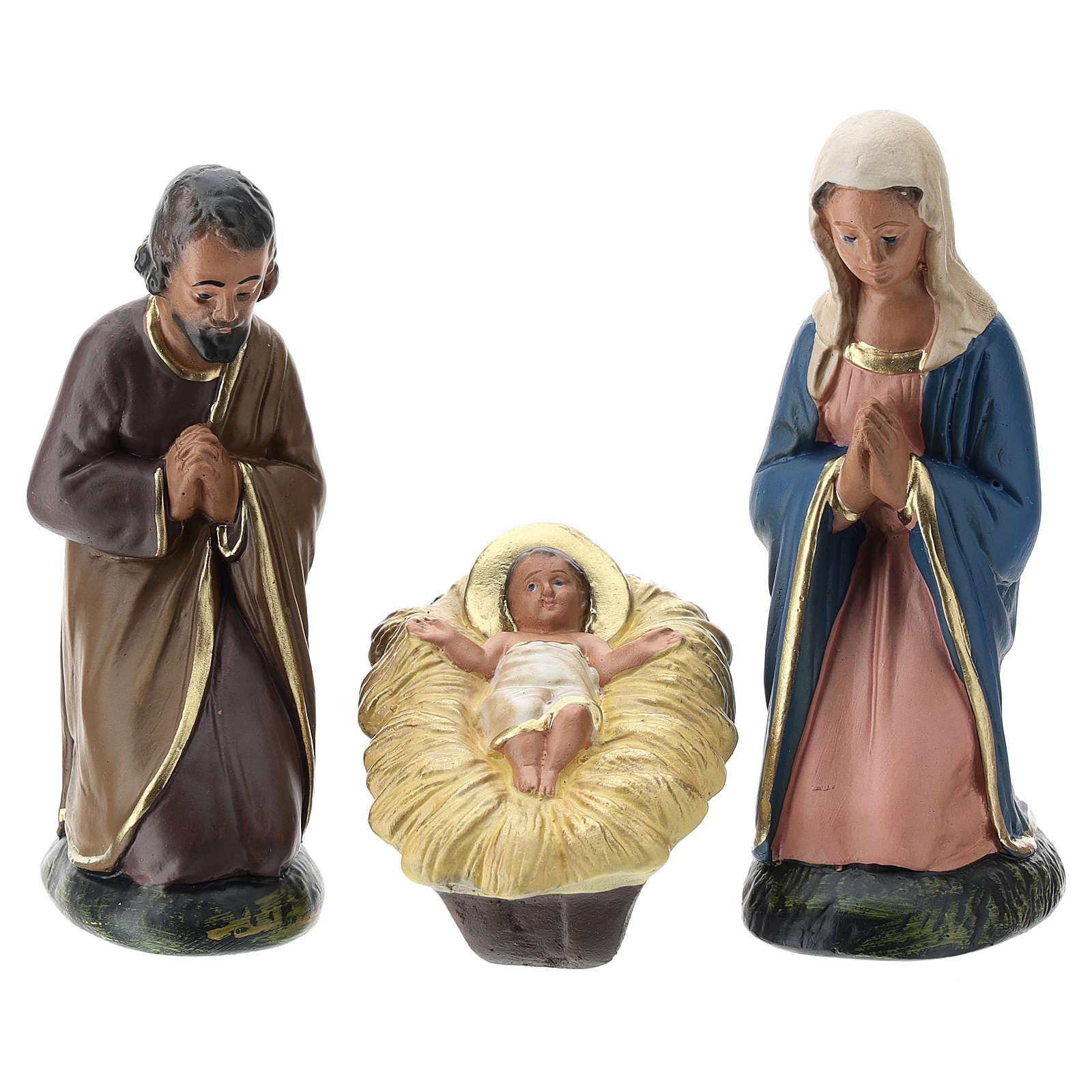 Composición Arte Barsanti Natividad 6 personajes 15 cm 4