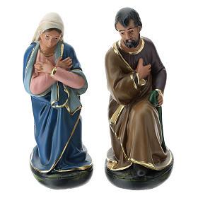 Natividad Arte Barsanti 6 personajes yeso pintado a mano 30 cm s5