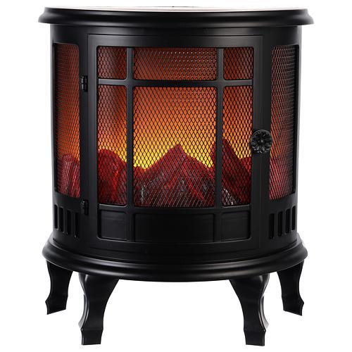 Chimenea Led: estufa con fuego 35x30x15 cm 1