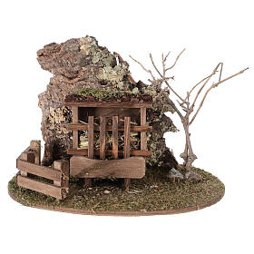Feed fence figurine Nordic nativity 8-10-12 cm s1