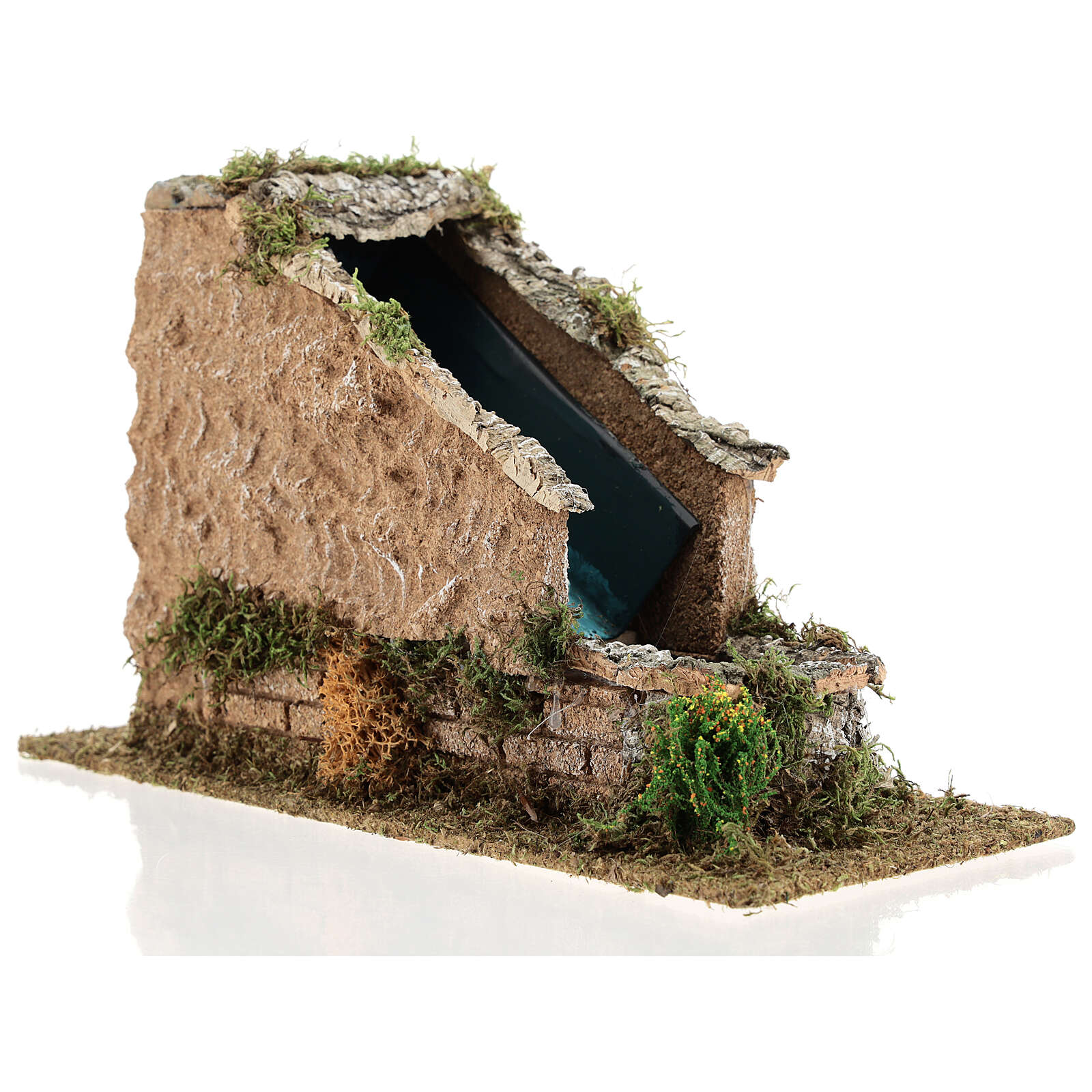 Waterfall with working pump, 8-10 cm Nativity Scenes 17x12x27 cm 4