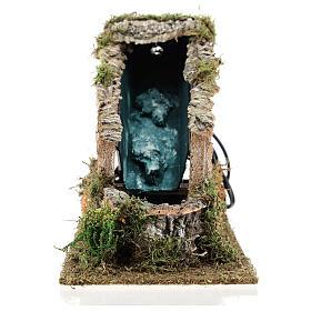 Waterfall with working pump, 8-10 cm Nativity Scenes 17x12x27 cm s1