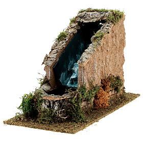 Waterfall with working pump, 8-10 cm Nativity Scenes 17x12x27 cm s4