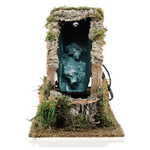 Waterfall with working pump, 8-10 cm Nativity Scenes 17x12x27 cm 1