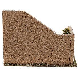 Gradinata angolare muratura 20x15x15 cm presepi 8-12 cm s4