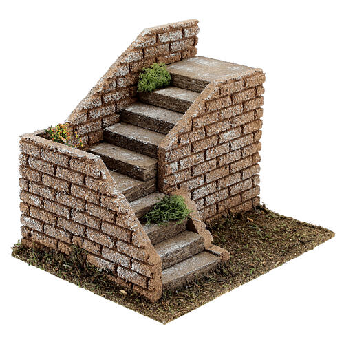 Angular masonry steps 20x15x15 cm, 8-12 cm nativity 2