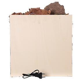 Ambientazione araba (D) presepe napoletano 8 cm arcate mercato 45x35x35 cm s6