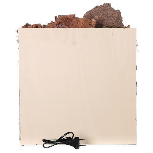 Ambientazione araba (D) presepe napoletano 8 cm arcate mercato 45x35x35 cm 6
